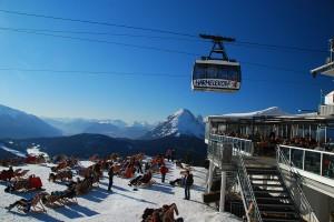 Skiing in Seefeld