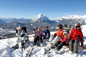 Schifahren in Seefeld